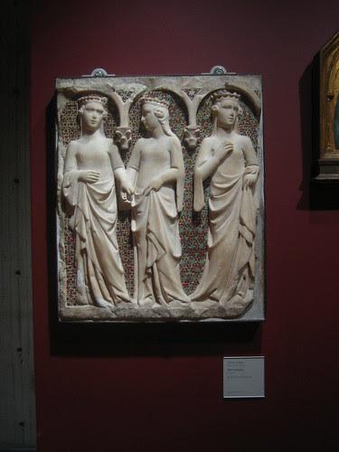 Three Princesses, c. 1325-35, Tino di Camaino _7699