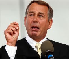 Boehner cries Speaker