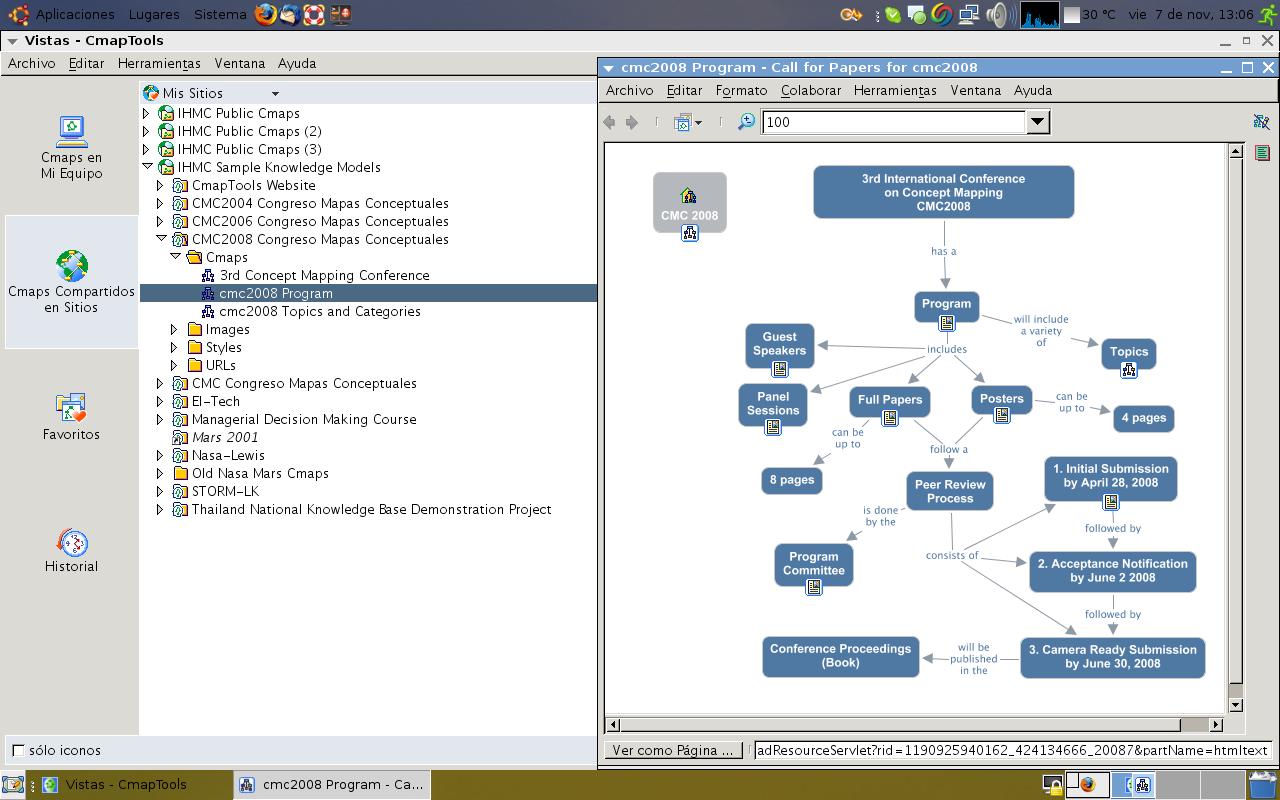 el maestro como instalar cmaptools en linux ubuntu