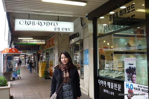 Korean shops