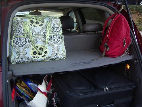 Weekender Bag arrives in Atlanta