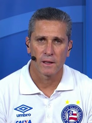 Jorginho técnico Bahia, no Bem, Amigos! (Foto: Reprodução SporTV)