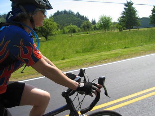Diane on Little Yamhill River Rd