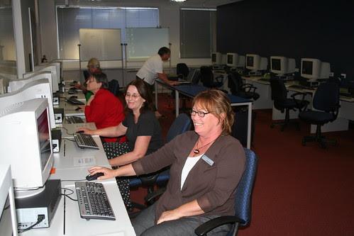 Staff Training Alice Springs CDU Library