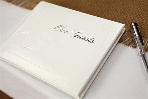 Wedding Guest Book Alternatives