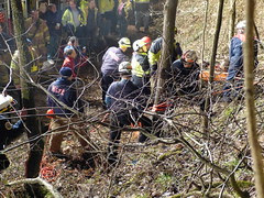 MCFRS Technical Rescue Specialists Assist in Rescue of a Man Trapped in Cave