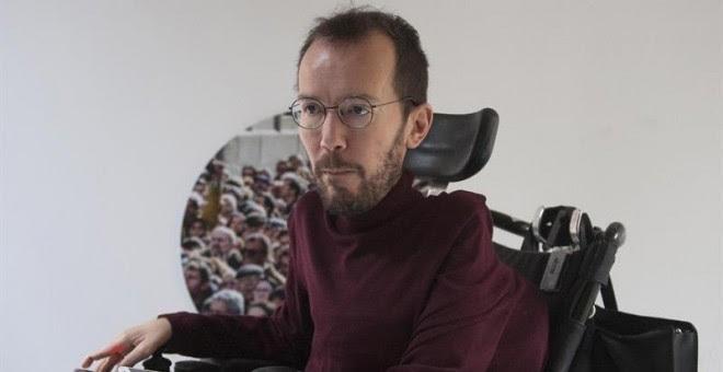El secretario de Organización de Podemos, Pablo Echenique. - EFE
