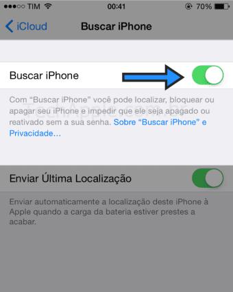 BuscariPhone - Bloqueio de Ativação