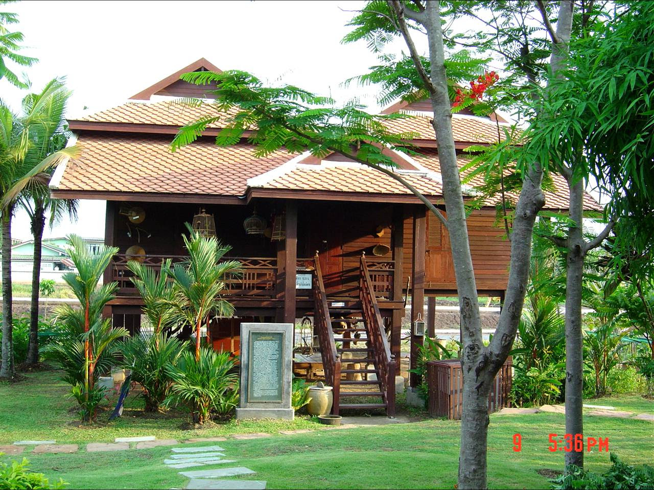 Traditional Thai House 2bdrm Single Story