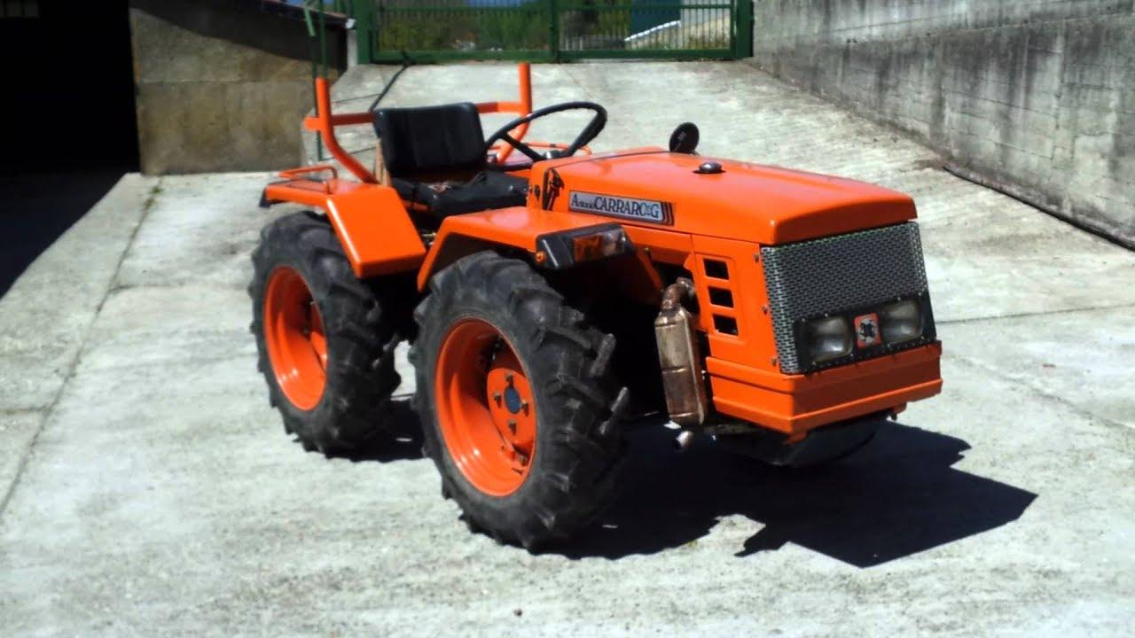 Trattori agricoli usati macchine antonio carraro 5500 usato for Trattori usati antonio carraro 7500