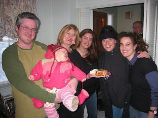 Dad, Mia, Marilyn Gould, Jennifer Gould, Mom and Jillian Gould