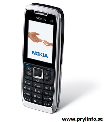 nokia e51 mobiltelefon