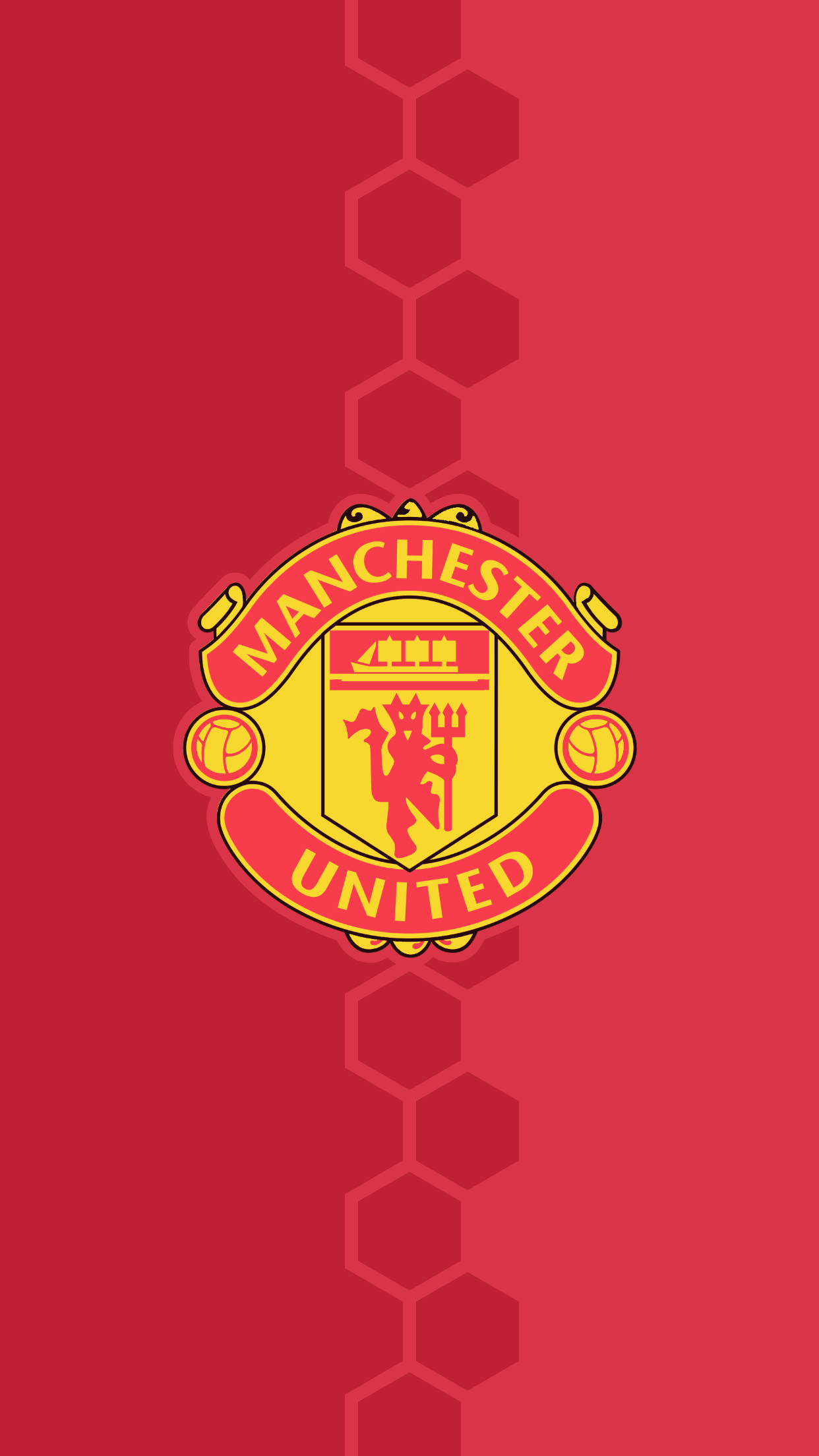 Manchester United Iphone Xs Max Wallpaper