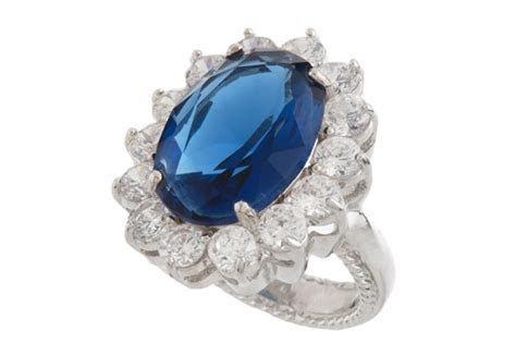 Kenneth Jay Lane's Replica Engagement Ring   The Best and