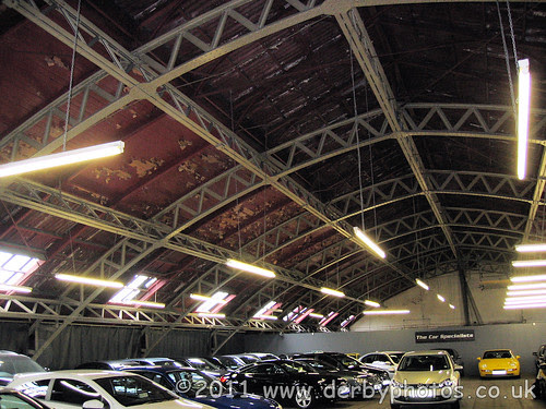 Handyside roof in Edmund Road Drill Hall, Sheffield