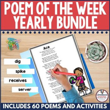 Poetry for Your Pockets Yearly Bundle for Summer, Fall, Wi