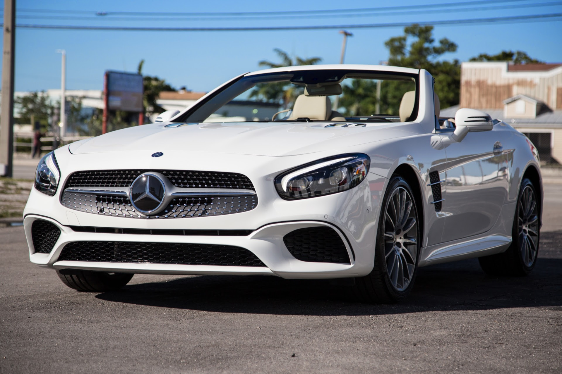 Used 2017 Mercedes-Benz SL-Class SL 450 For Sale ($74,900 ...