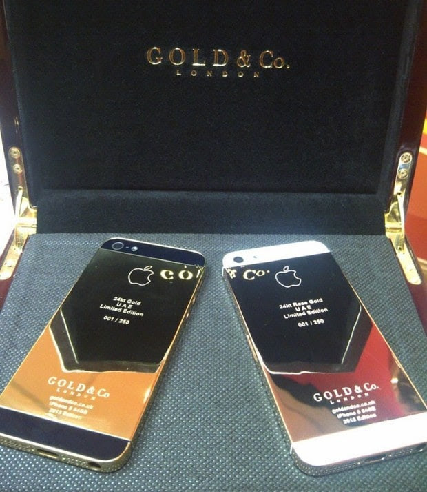 Gold & Co iphone 5 4