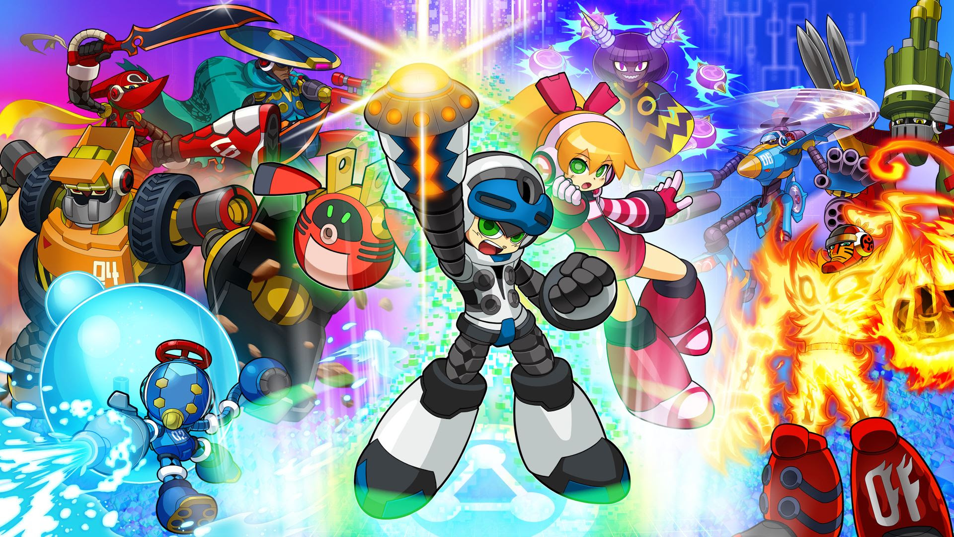 One year after launch, Mighty No. 9 physical rewards MIGHT be going out screenshot