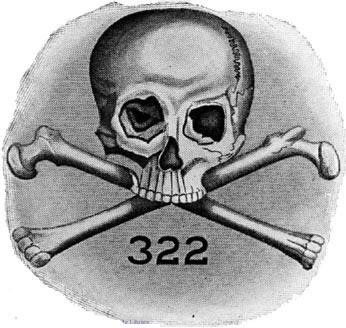 1) Skull & Bones. Logo