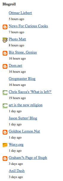 Blogger增加Blog List功能