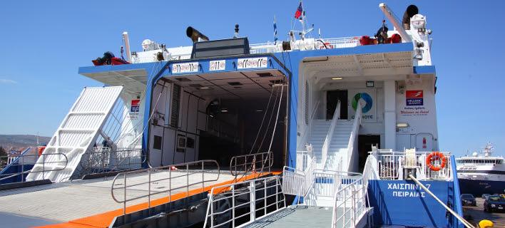 Ηράκλειο: Το πλοίο «Highspeed 7» προσέκρουσε στην προβλήτα του λιμανιού