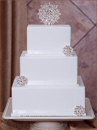 pictures of wedding cakes with bling