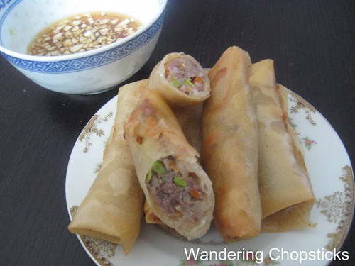 Lumpiang Prito (Filipino Fried Egg Spring Rolls) 4