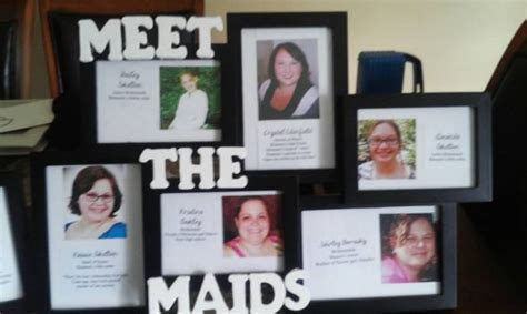 Meet the frames for the bridal shower   Weddingbee Photo