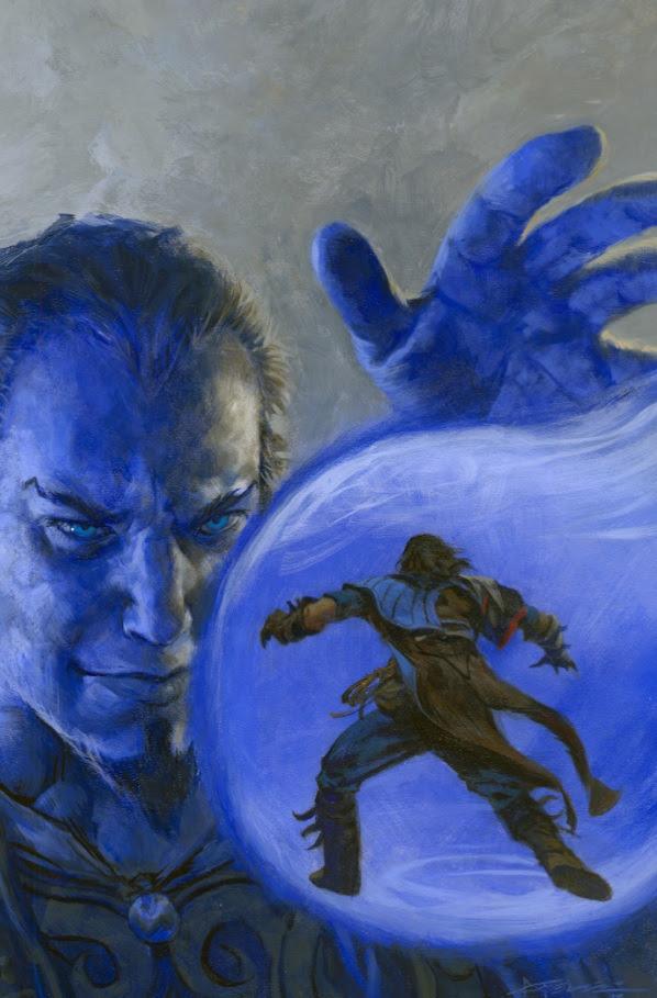 [Magic: Spell Thief #1 Cover]