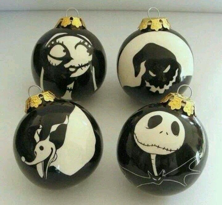 Nightmare Before Christmas Ornaments | X-Mas