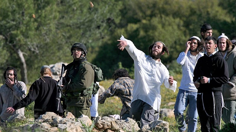 Critics say the new Israeli law only targets Palestinians protesters, but spares Israeli settlers [EPA]