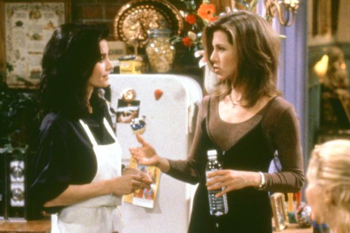 3. You are SIX years older than Monica and Rachel were meant to be at the start of Friends.
