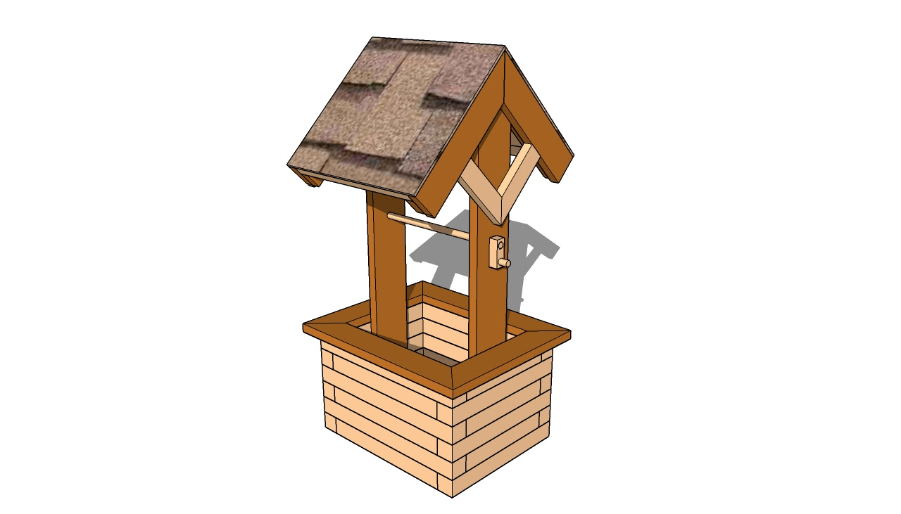 New Wood desk: Easy to Free woodworking plans wishing well DQ15