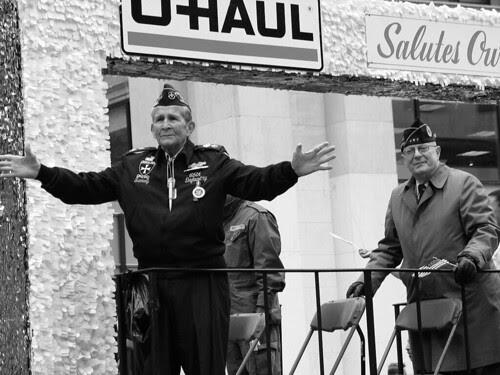 Veterans Day UHaul Float