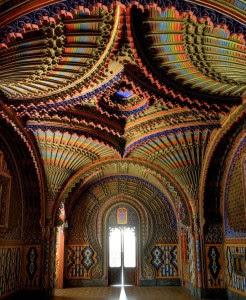 Interior of Castello Sammezzano