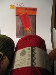 Red Velvet Stocking kit