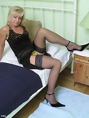 super hot blonde perfect body