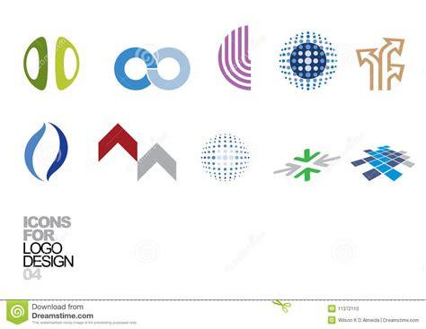 logo design vector elements  stock vector illustration