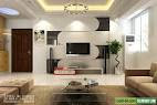Modern Living Room TV Wall Units (Design 22) in Black and White Colors