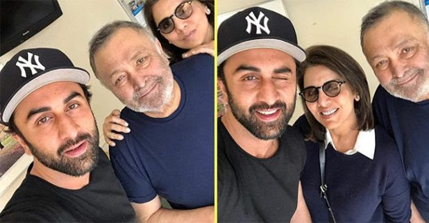 """""""Breathtaking feeling in lows"""" said Neetu kapoor while Sharing a selfie with family"""