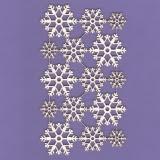 Tekturka - Śnieżynki 02 - zestaw