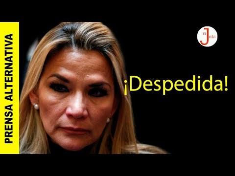 Dictadora boliviana obligada a renunciar a candidatura a la presidencia....