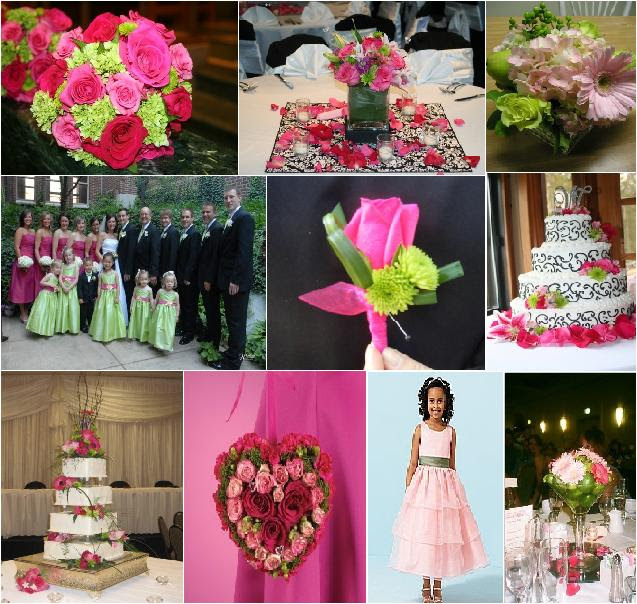 Inspirational Friday Pink Green Celebration Advisor Wedding
