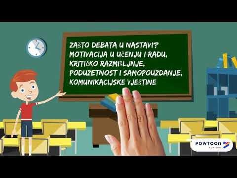 DEBATA -nastavne metode