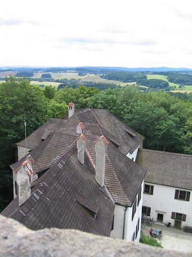 Hrad Rostejn tower view