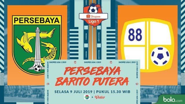 Jadwal Pertandingan Persebaya Surabaya Shopee Liga 1