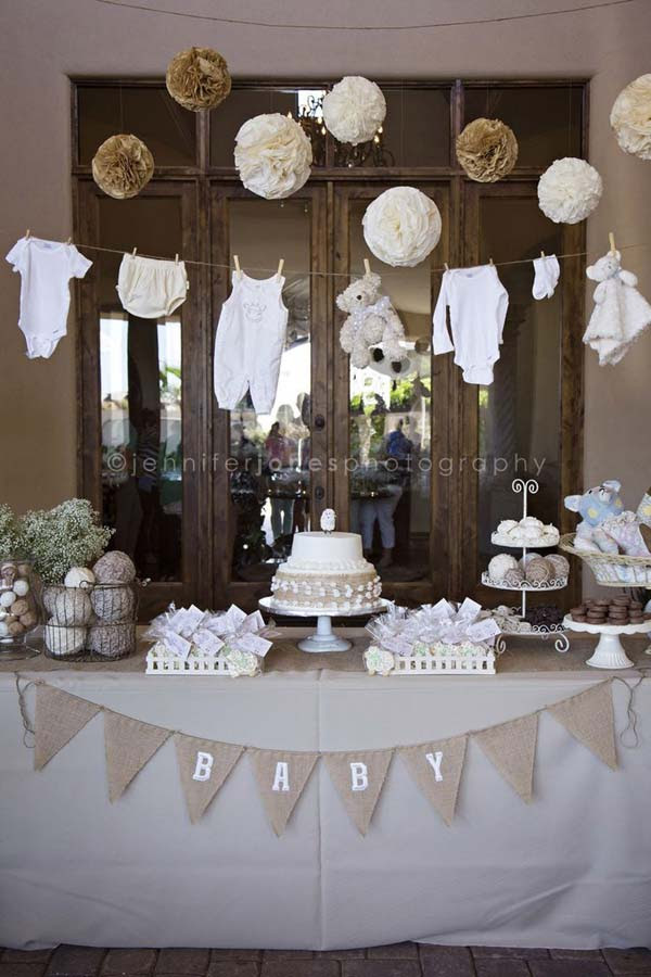 22 Cute & Low Cost DIY Decorating Ideas for Baby Shower ...
