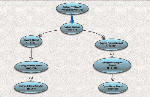 Stewart Family Chart by midgefrazel