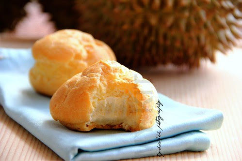 Durian Cream Puff